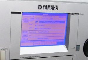 Výměna LCD displeje u kláves Yamaha
