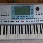 Korg PA50 SD Repair - LCD display, keys, contact rubber, buttons, connectors