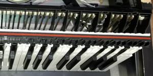 Mechanika klaviatury typu Yamaha Clavinova