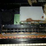 Vyteklé baterie klávesy Yamaha