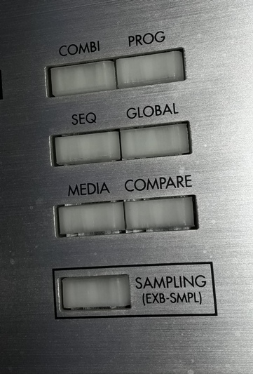 Korg Triton LE - broken buttons repair