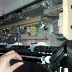 Yamaha CLP-230 repair and teardown photos