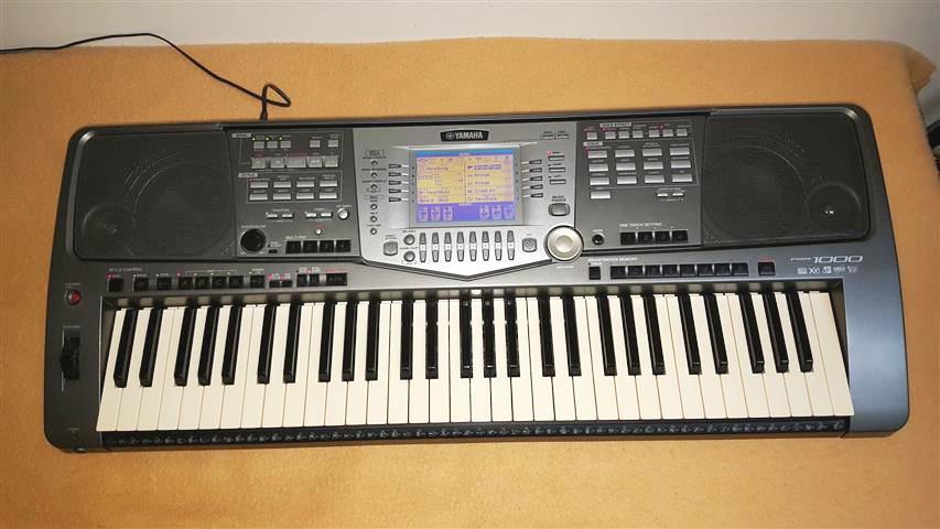 Prodám klávesy Yamaha PSR-1000