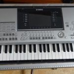 Yamaha Tyros 2: Broken Key Contact Rubber Repair