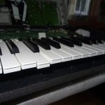 Yamaha Tyros 2: Broken Key Repair