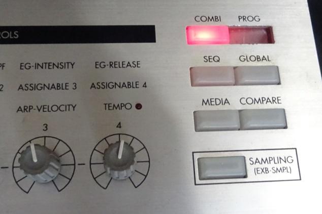 Korg Triton LE - broken buttons