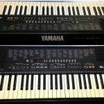 Yamaha PSR-310 disassembly / repair pictures