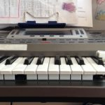 broken keys Korg keyboard