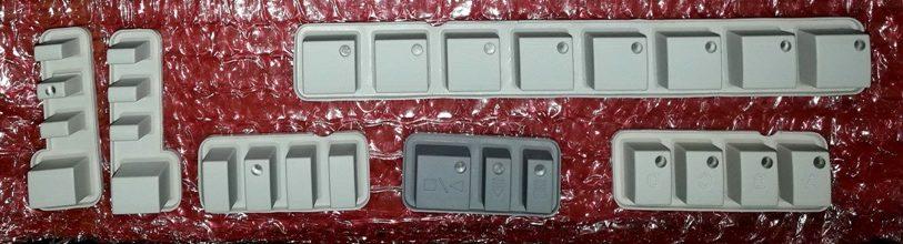 Oprava gumových tlačítek